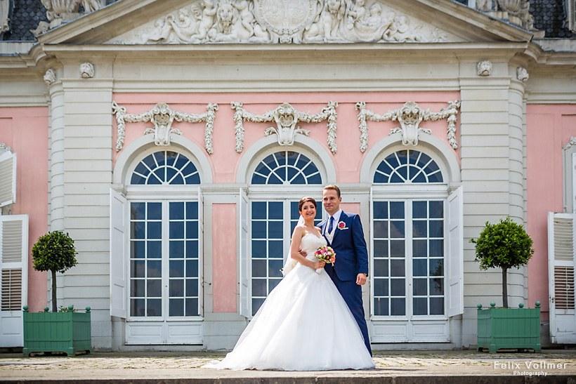 Hochzeitsfotografie Schloss Benrath