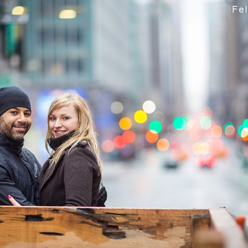 New York | Betti und Mike – Engagement Shooting